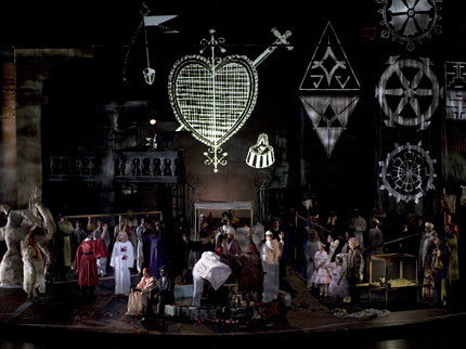 Picture From Schlingensiefs Parsifal Stagings 2007 Image Bayreuth