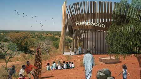 Grundsteinlegung Operndorf Afrika, 8.2.2010
