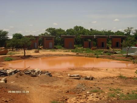 Baustelle Operndorf Afrika, August 2011 (c) Arnaude Dandjinou