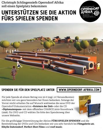 Teaser FÜRS SPIELEN SPENDEN