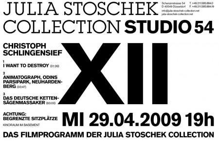 STUDIO 54 Filmabend