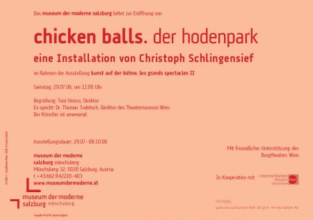 CHICKEN BALLS Flyer