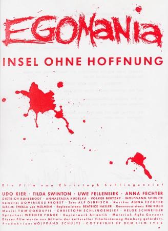 EGOMANIA (1986)
