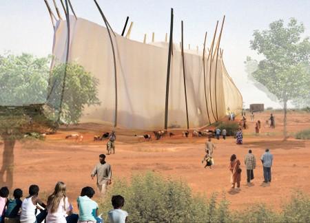 Festspielhaus Afrika Collage
